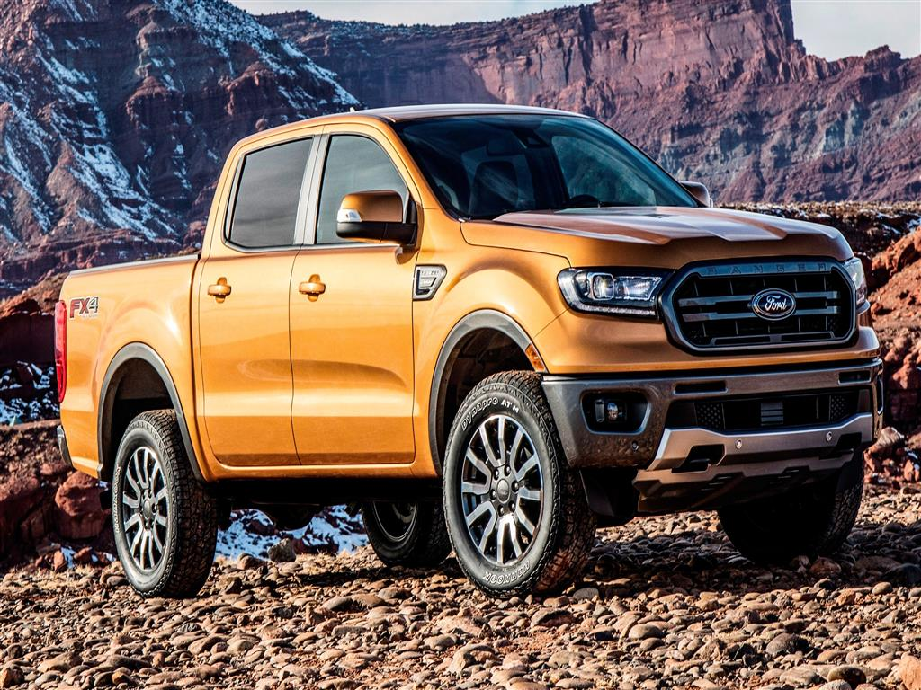 1024x768 2019 Ford Ranger 4K Car