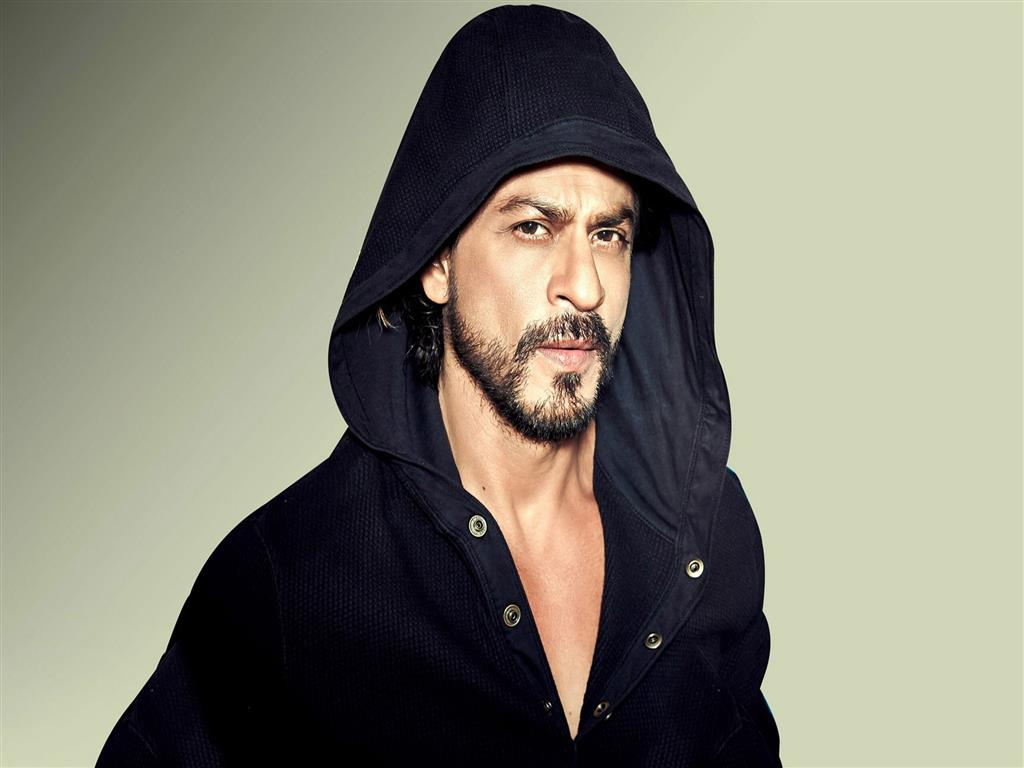 1024x768 Shahrukh Khan wear Jacket Photo