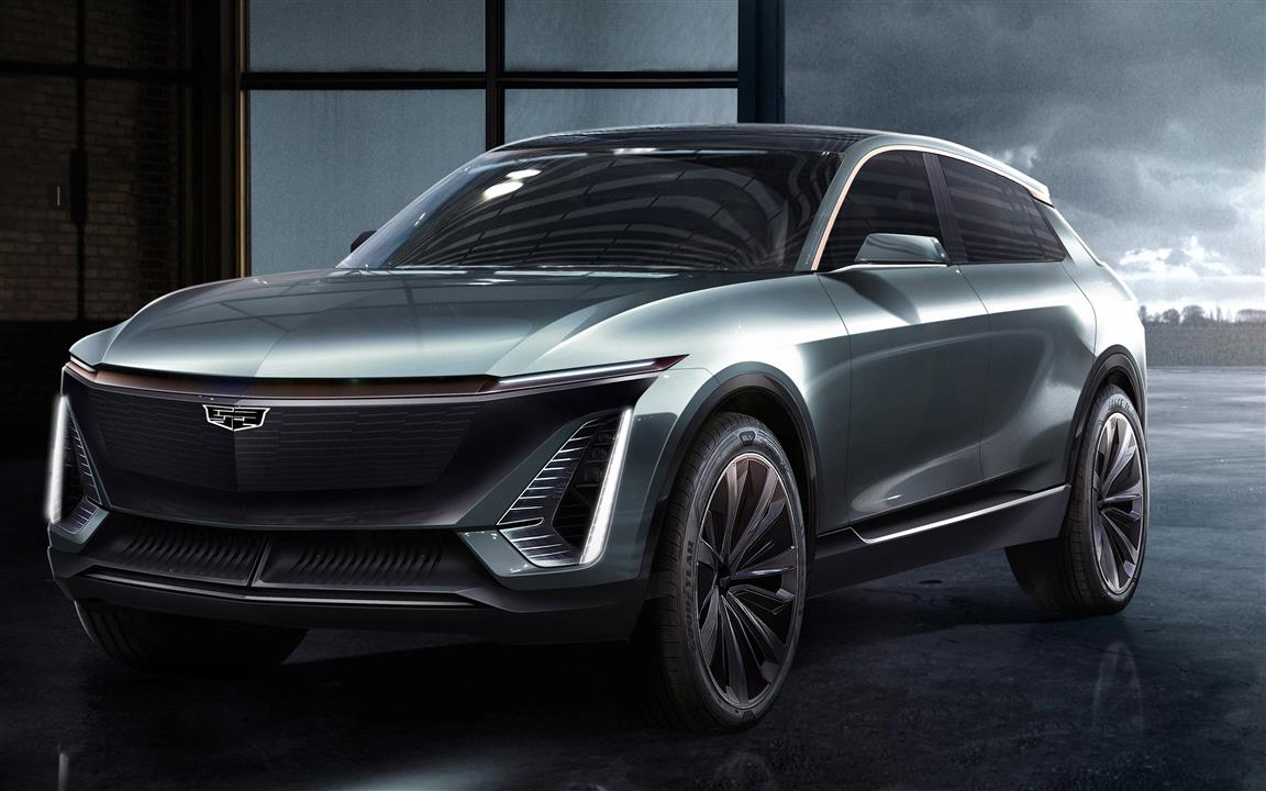 1152x720 2019 Cadillac EV Concept 5K Car Wallpaper