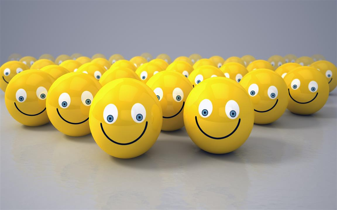 1152x720 3D Smiley 4K Wallpapers