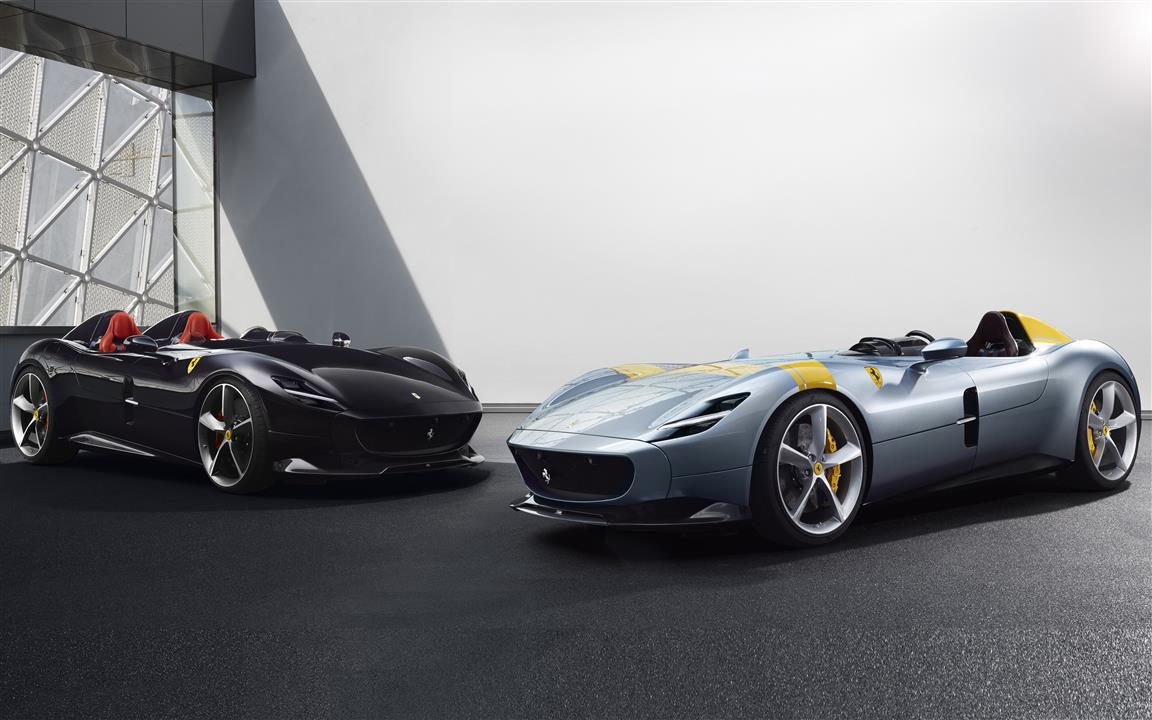1152x720 8K Wallpaper of Ferrari Monza SP2 Cars Model