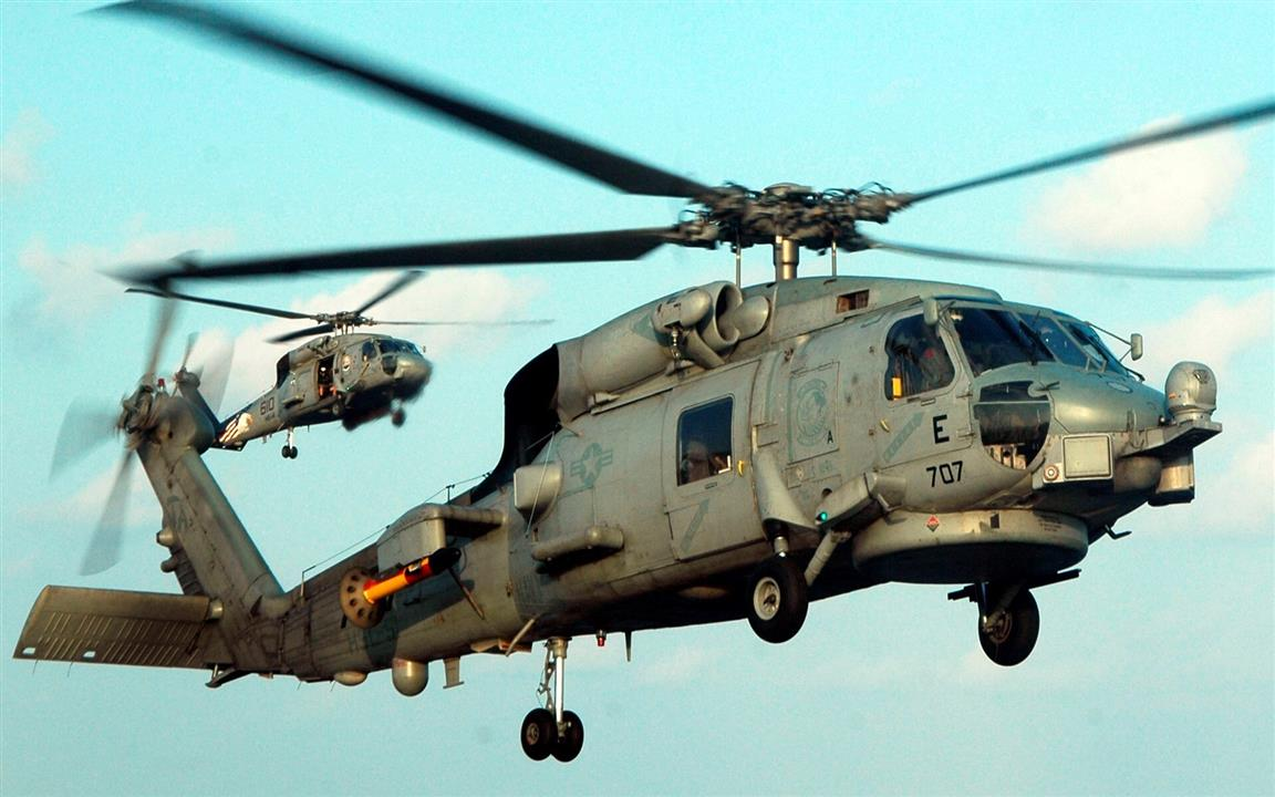 1152x720 SH60 Sea Hawk Helicopter Wallpaper