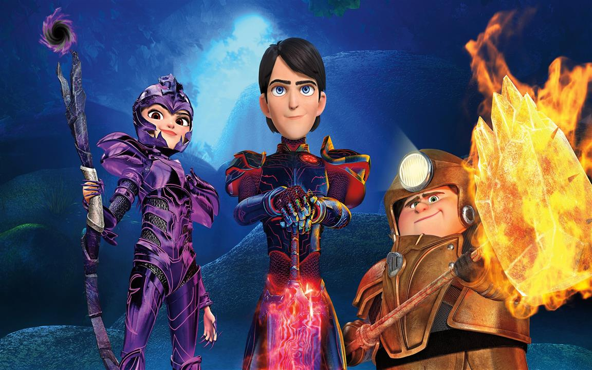 1152x720 Trollhunters Fictional Characters 4K Wallpaper