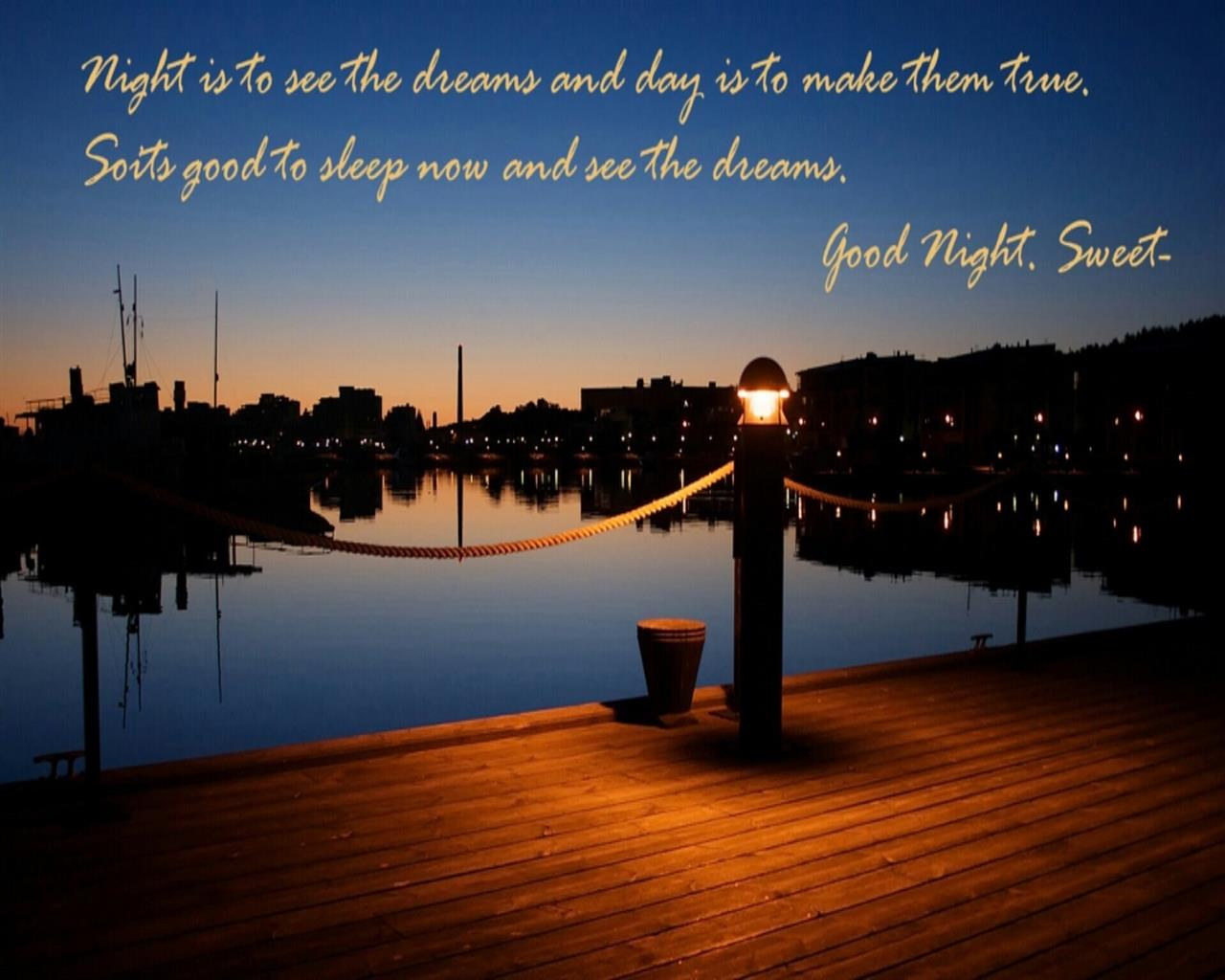 1280x1024 Beautiful Good Nights Quotes Wishes HD Images