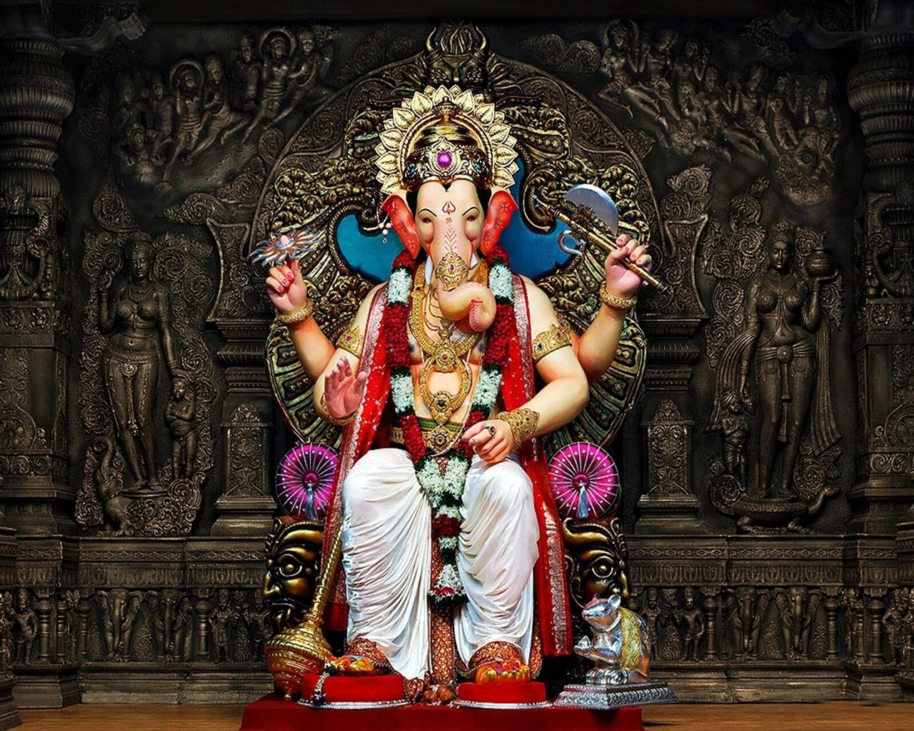 1280x1024 God Ganesh Chaturthi HD Photos