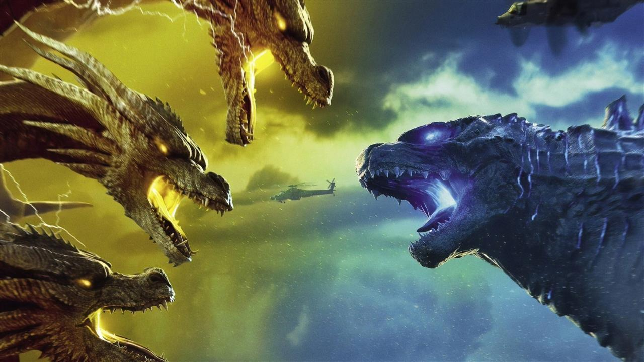 1280x720 2019 Godzilla King of the Monsters Film Wallpaper