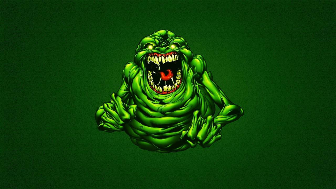 1280x720 Funny Green Ghostbusters Slimer Wallpapers