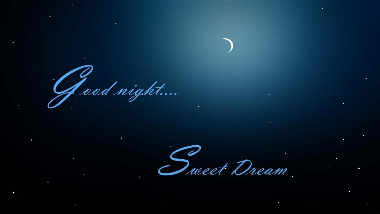 1280x720 Good Night Sweet Dreams Greetings Nice HD Wallpapers