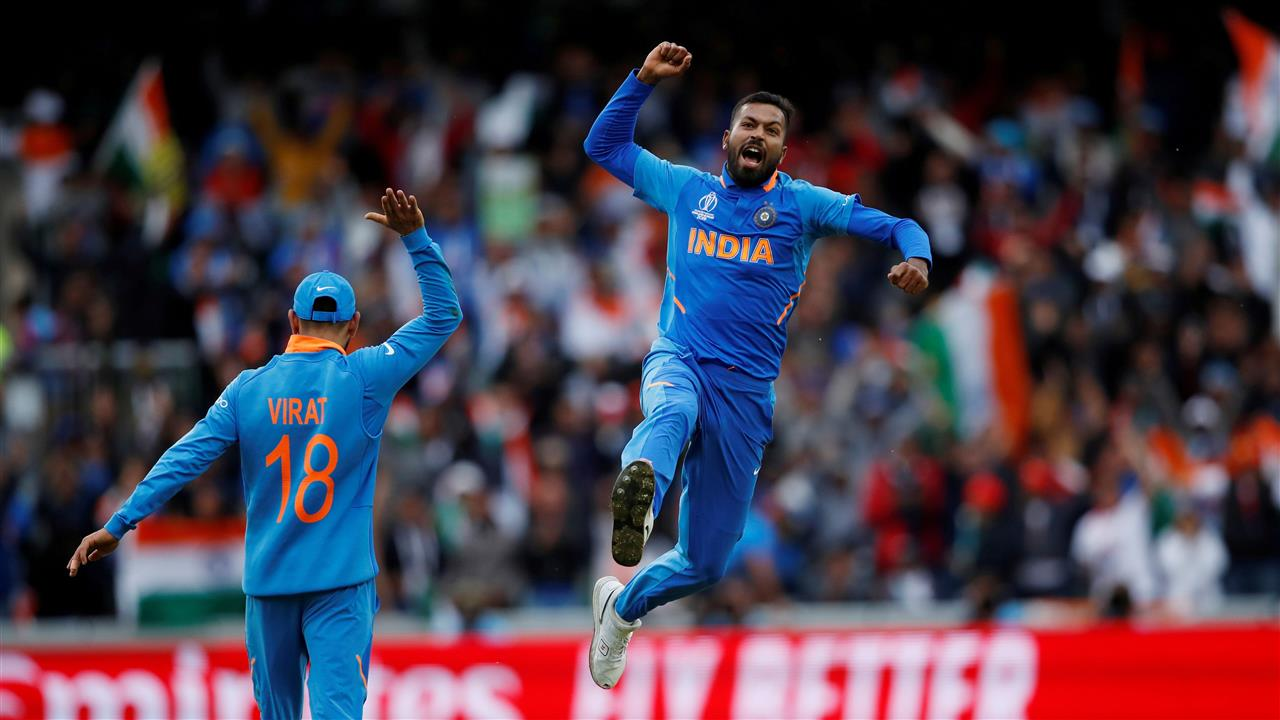 1280x720 Hardik Pandya Indian Cricketer in World Cup 2019 5K Wallpaper