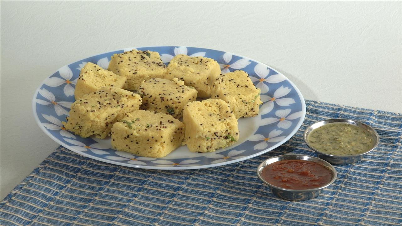 1280x720 Khaman Special and Favorite Breakfast Snack Dish of Gujarati Wallpapers