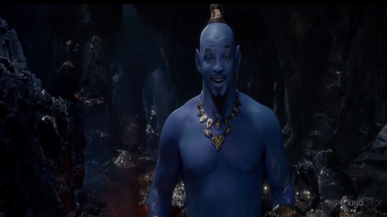 1280x720 Will Smith as Genie in 2019 Film Aladdin