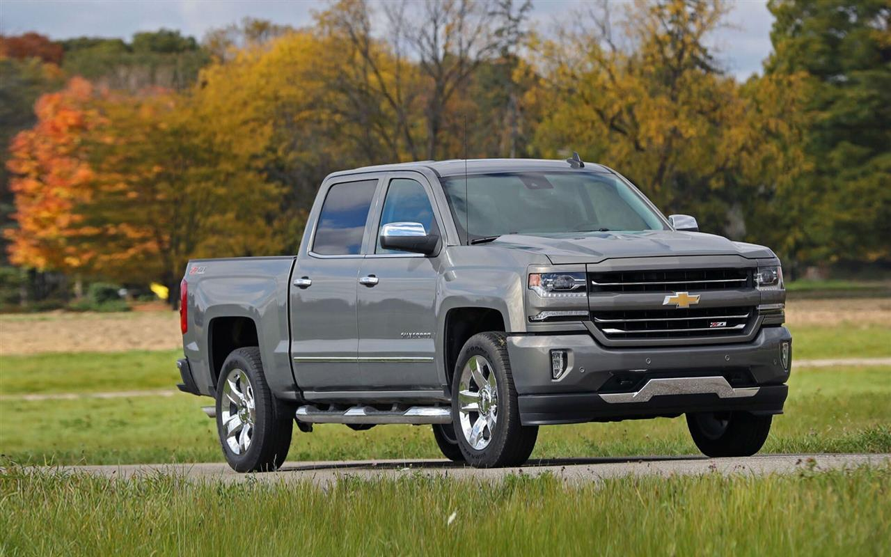 1280x800 Latest 2018 Chevrolet Silverado Car