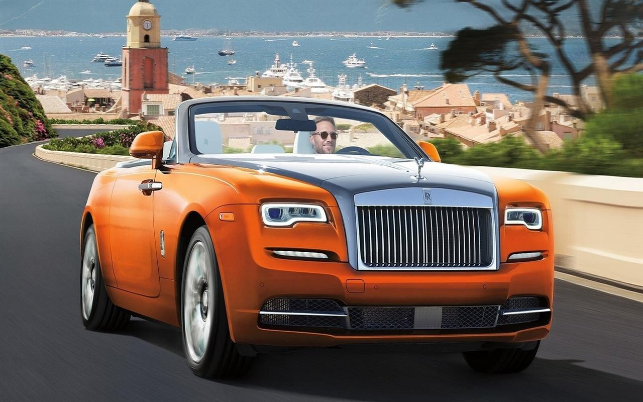 1280x800 Latest 2018 Rolls Royce Dawn Car