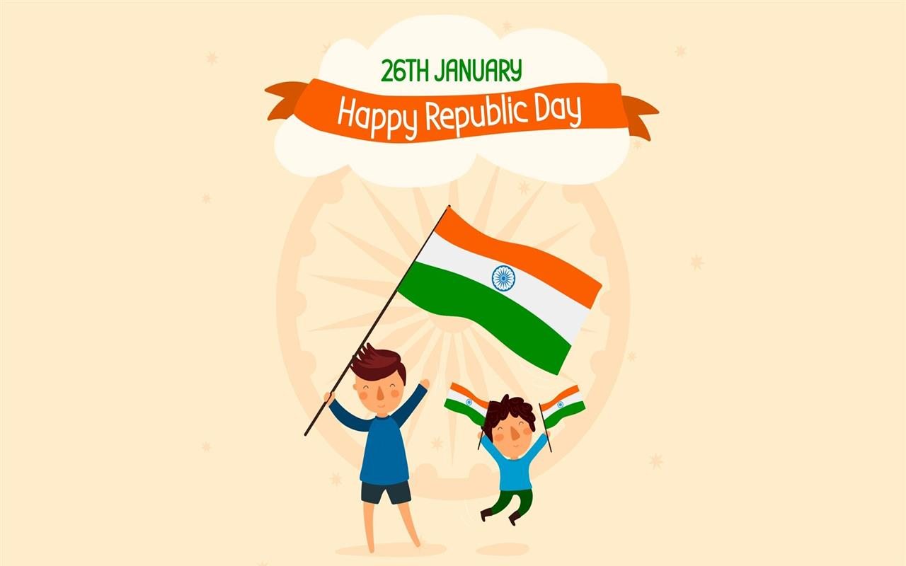 1280x800 Republic Day 26 January Holiday Desktop Wallpaper