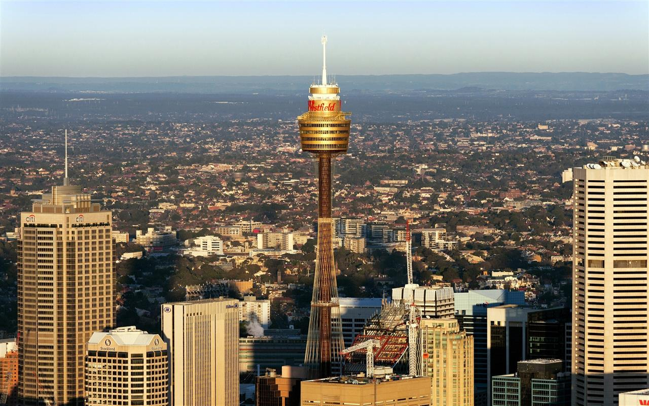 1280x800 Sydney Tower in New South Wales Australia HD Image