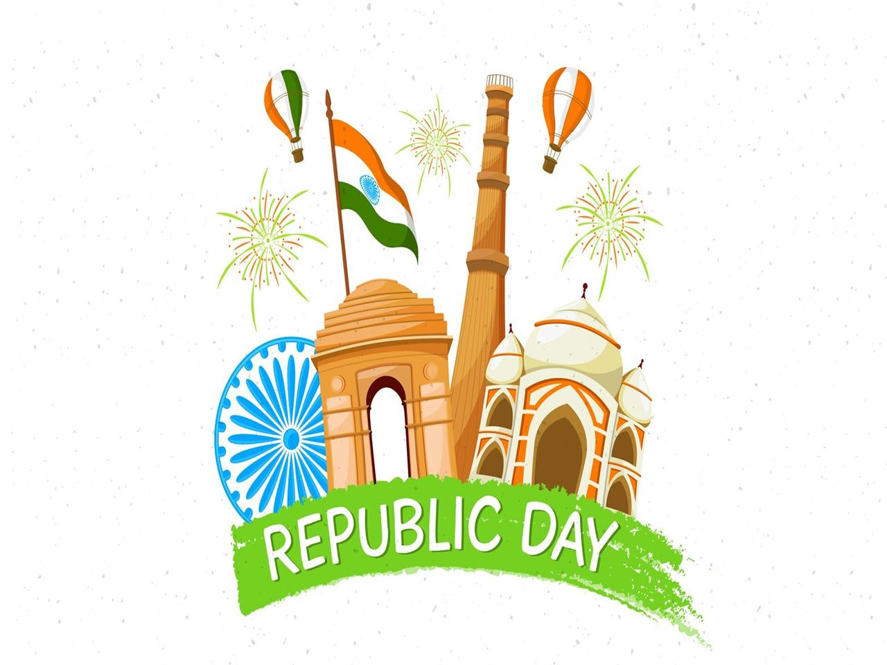 1280x960 Beautiful Wallpaper of Indian Republic Day