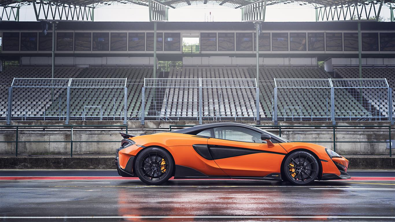 1366x768 5K Image of 2019 McLaren 600LT Spider Car