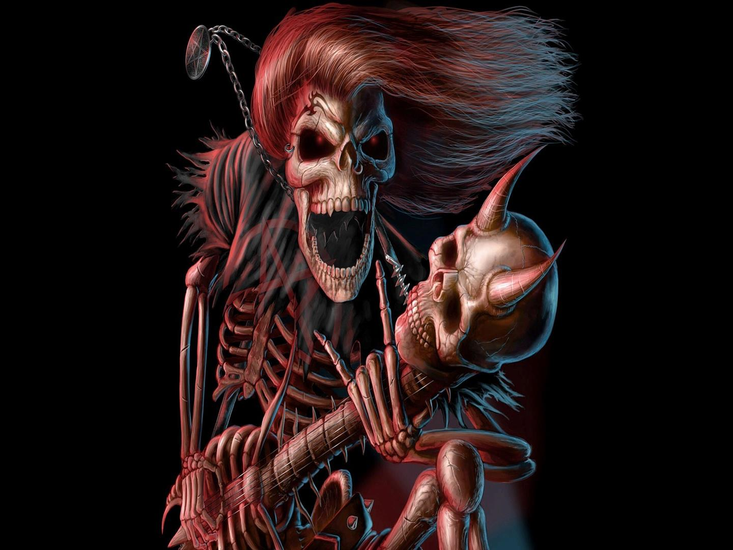 1440x1080 Cartoon Skeleton Pics