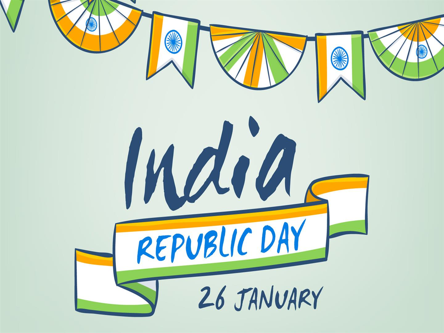 1440x1080 India Republic Day Background
