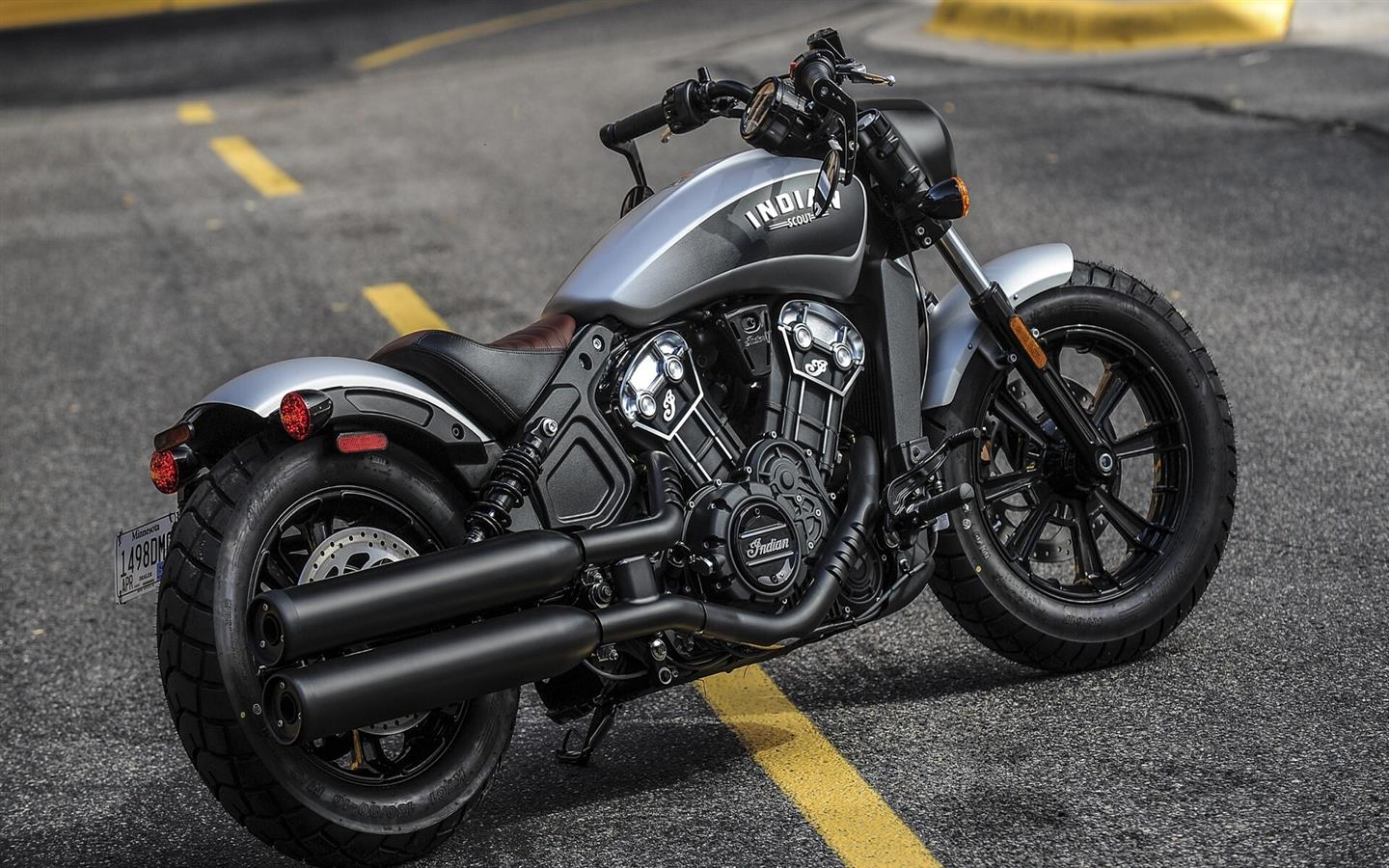 1440x900 Indian Scout Bobber One Seater Superb Bike