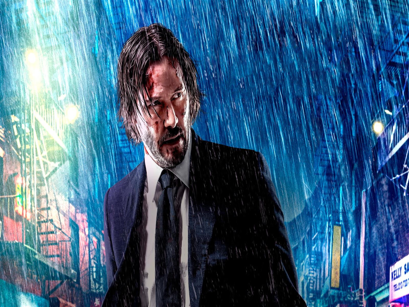 1600x1200 John Wick Chapter 3 Parabellum Movie Wallpaper