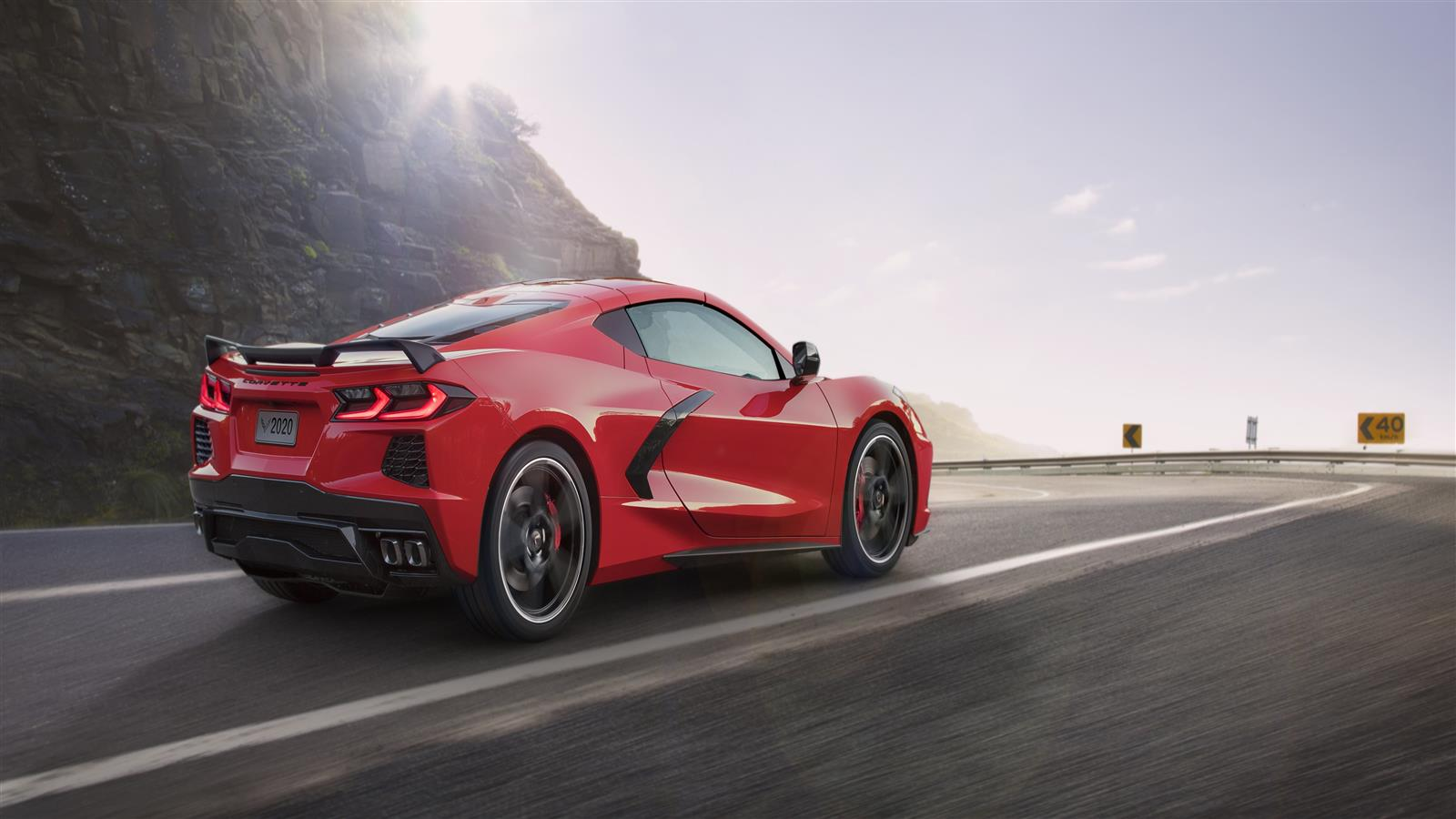 1600x900 Chevrolet Corvette Stingray Z51 2020 5K Wallpaper