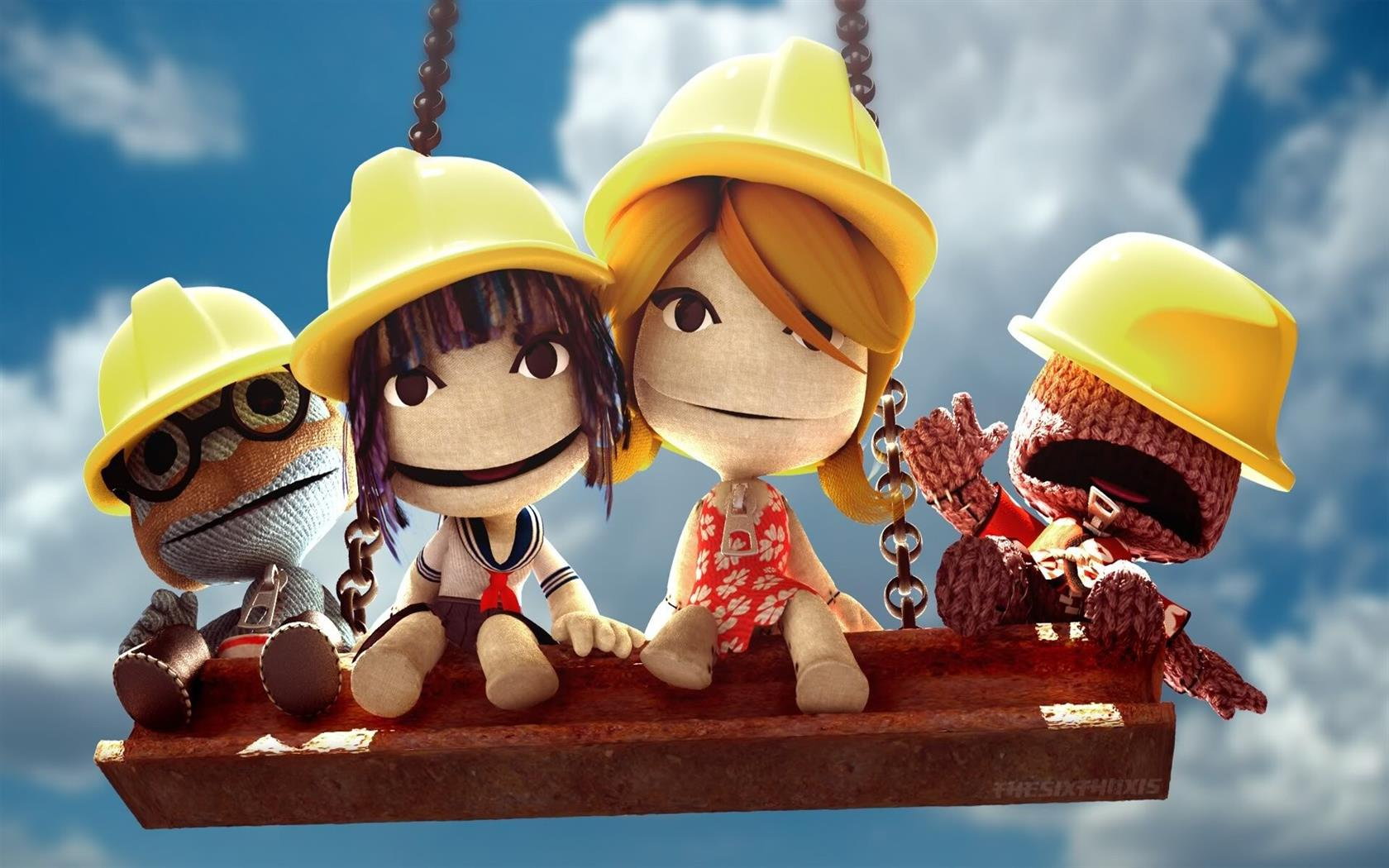 1680x1050 Little Big Planet Cartoon HD Image