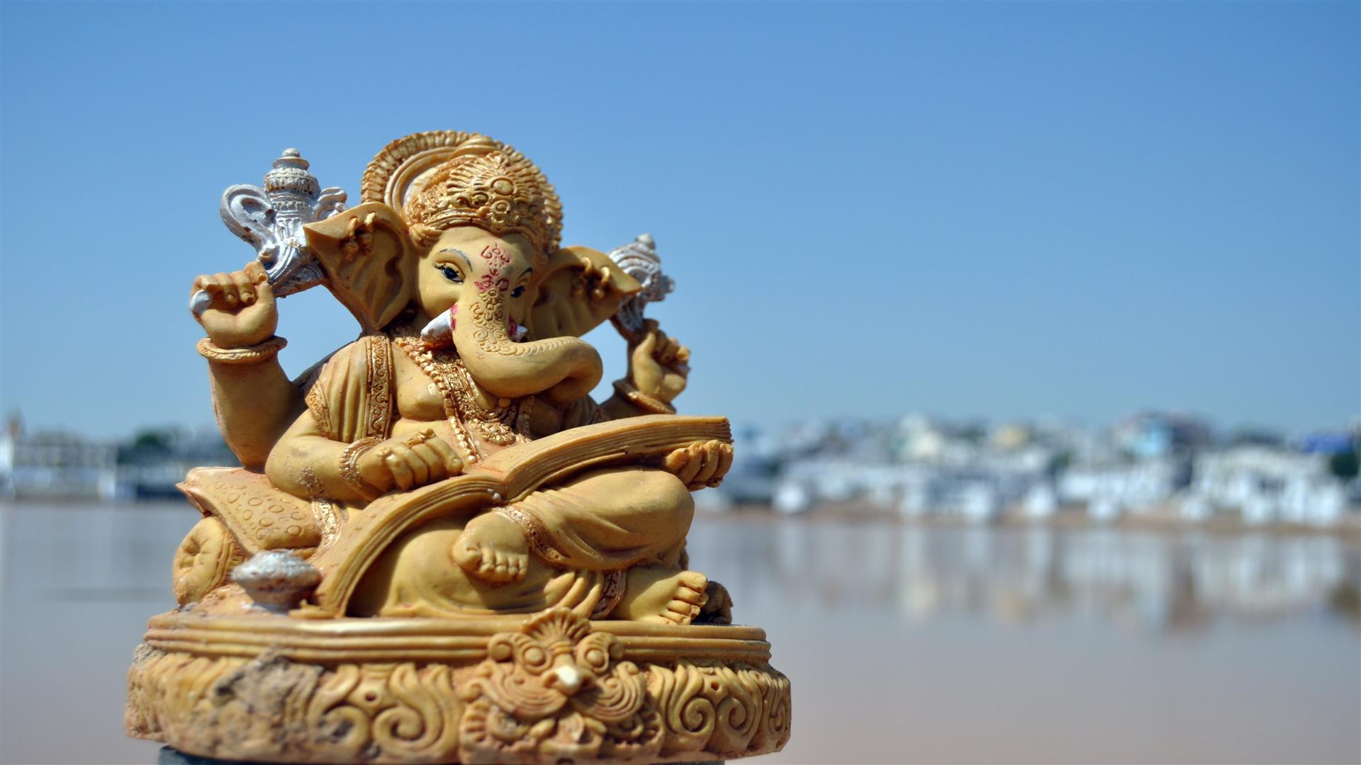 1920x1080 Beautiful Ganesh Wallpaper on Ganesh Chaturthi