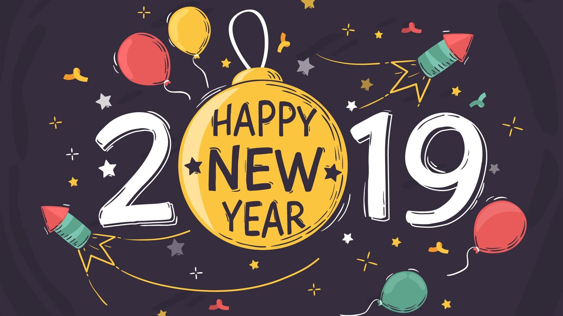 1920x1080 New Year 2019 HD Images