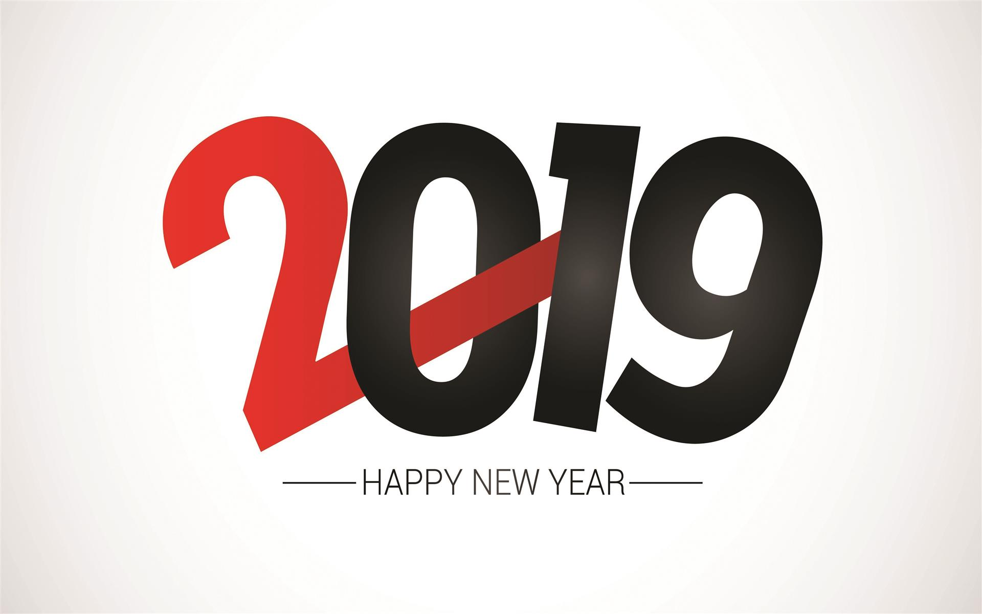 1920x1200 2019 Happy New Year HD Photo