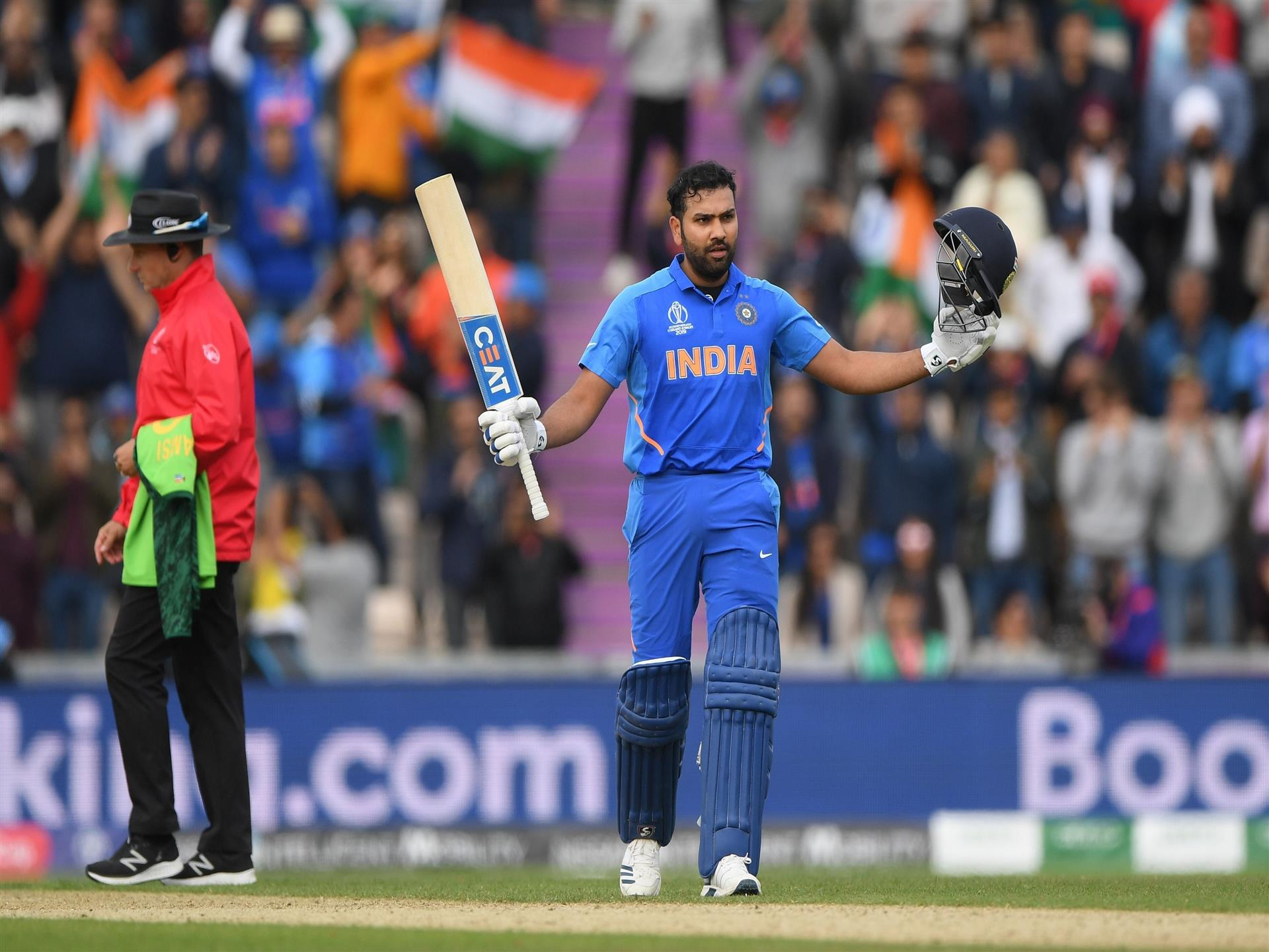 1920x1440 Rohit Sharma Indian Cricketer in Cricket World Cup 2019 4K Wallpaper