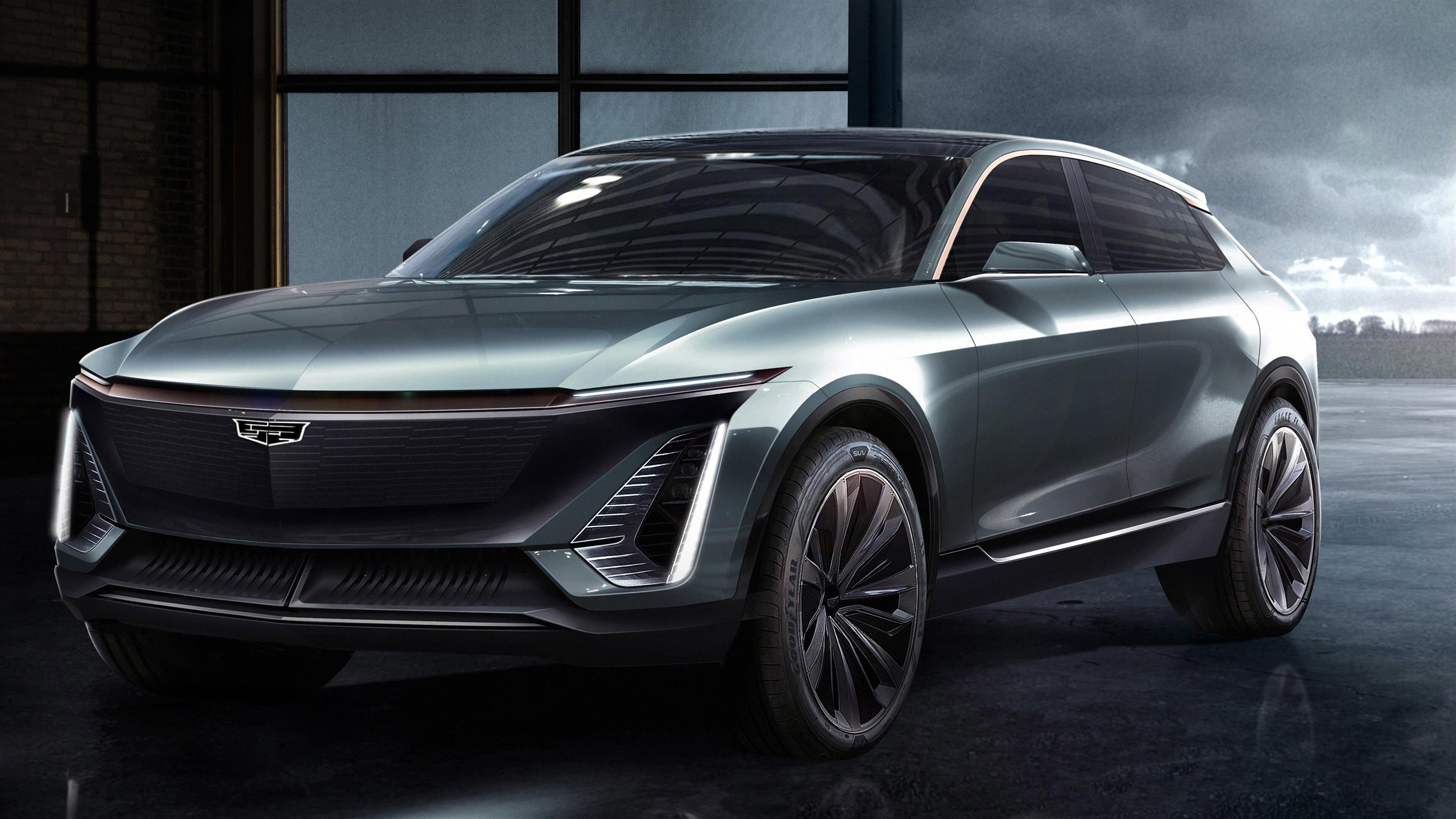 2560x1440 2019 Cadillac EV Concept 5K Car Wallpaper