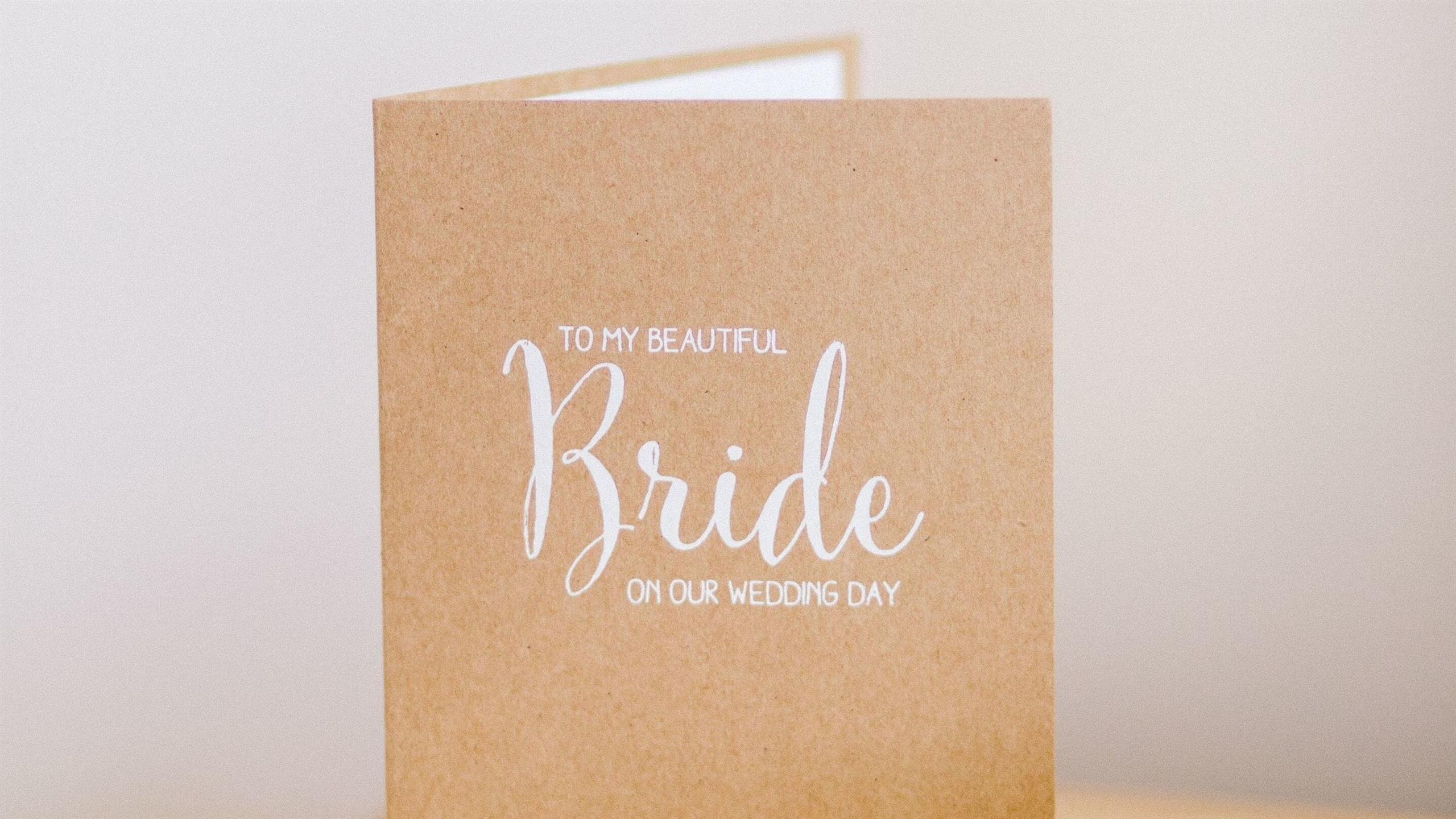 2560x1440 Creative Wedding Card HD Pics