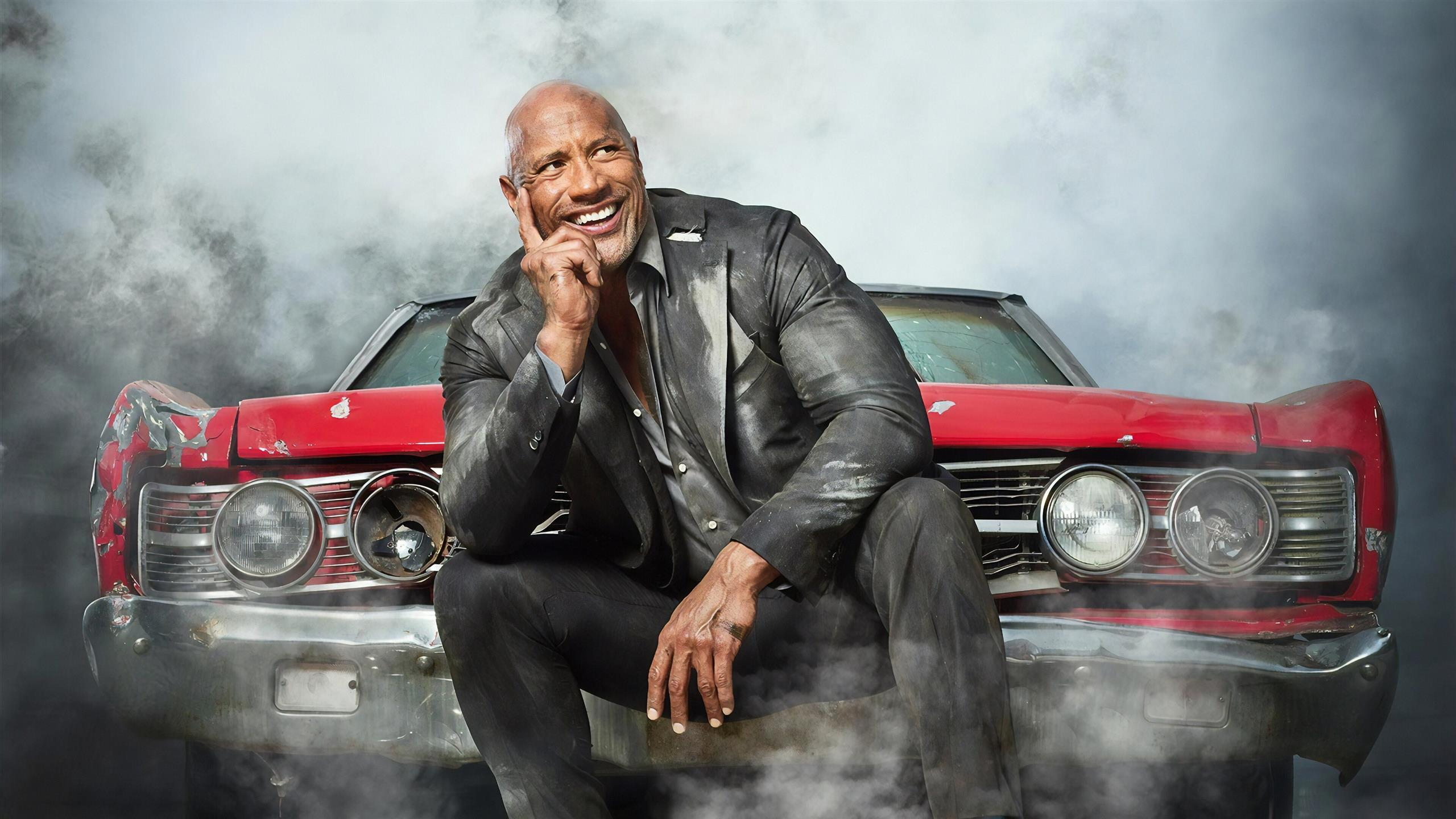 2560x1440 Fast and Furious Presents Dwayne Johnson As Hobbs 4K Wallpaper