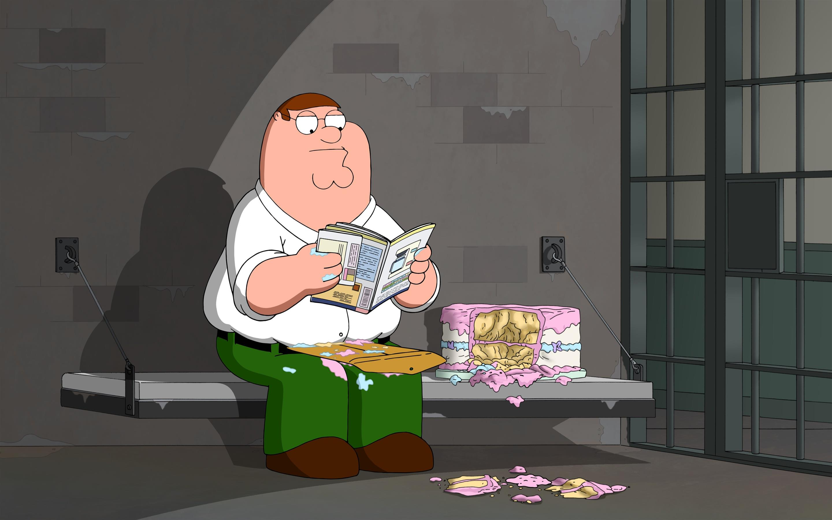 2880x1800 Cartoon Character Peter Griffin 4K Wallpaper