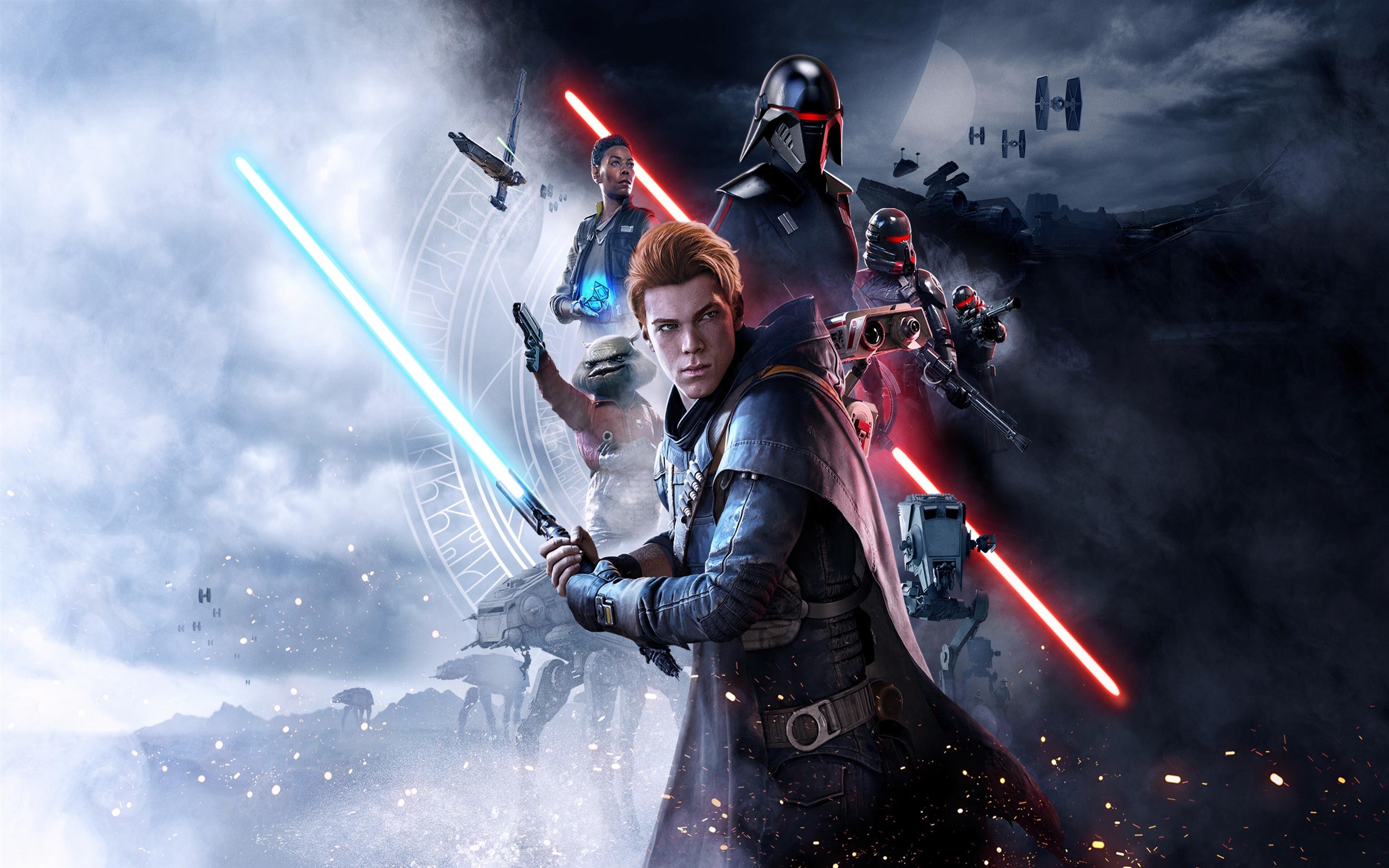2880x1800 Star Wars Jedi Fallen Order 2 Game Wallpaper