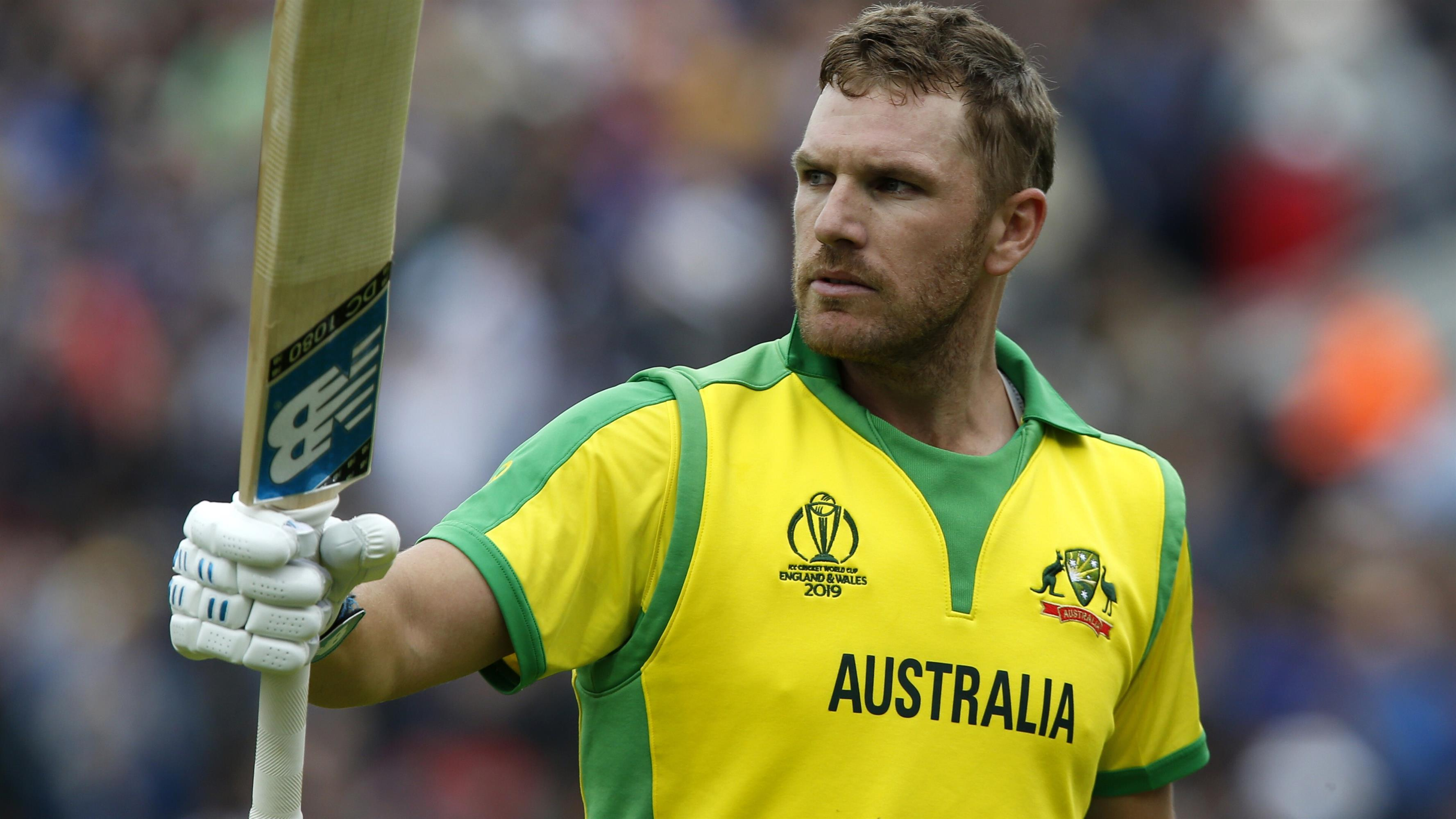 3554x1999 Aaron Finch in 2019 Cricket World Cup 4K Wallpaper