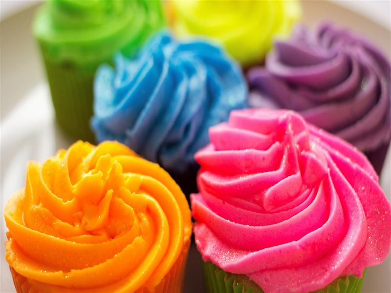 800x600 3D Cup Cake HD Photo Background