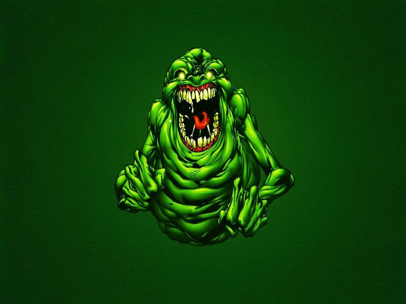 800x600 Funny Green Ghostbusters Slimer Wallpapers