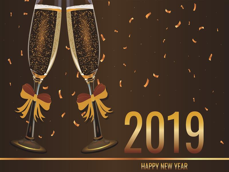 800x600 HD Images of 2019 New Year Holiday