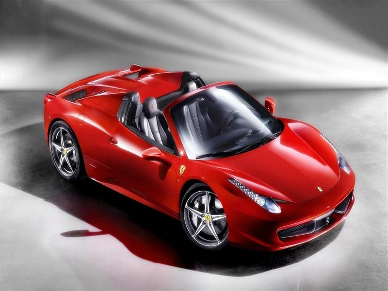 800x600 Red Ferrari 458 Spider Car Wallpapers