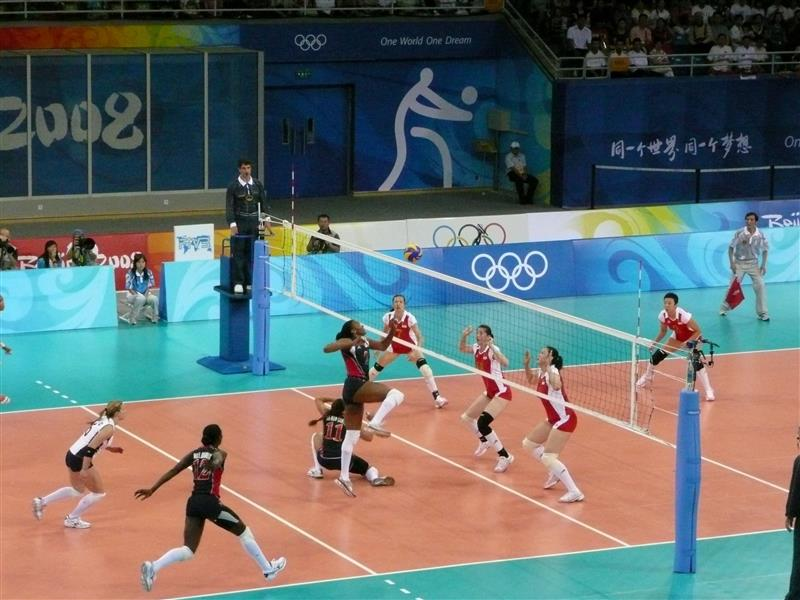 800x600 Volleyball in China Olympics Wallpapers