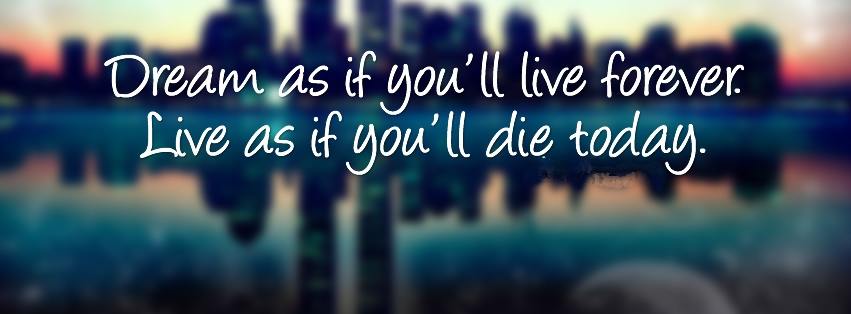 Amazing Quote Facebook Cover Photo