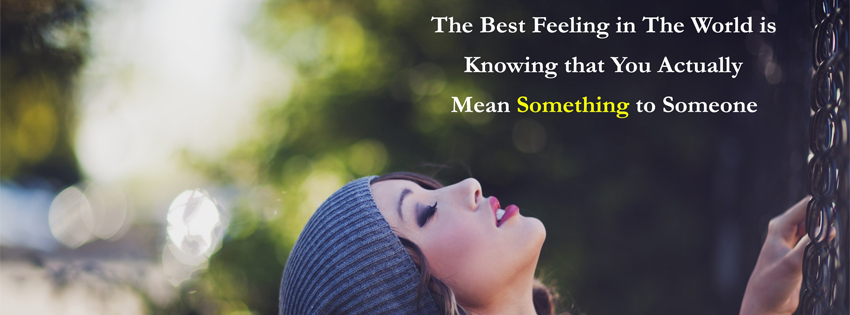 Beautiful Quote Facebook Cover Photo
