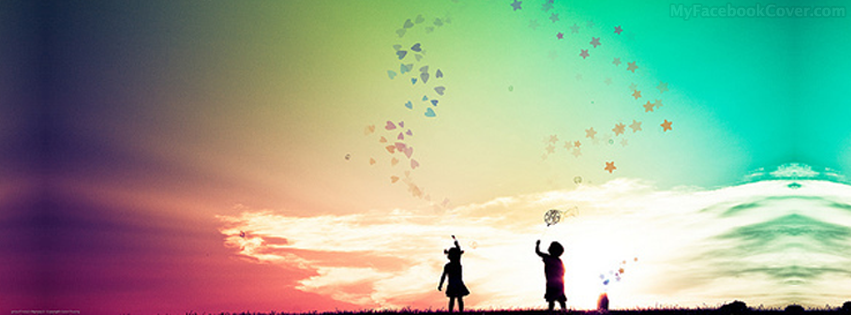 Kids in Love Facebook Cover