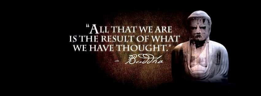 Lord Buddha Quote FB Cover Image
