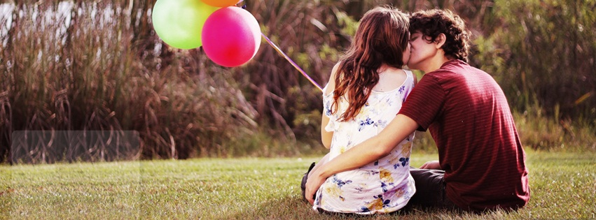 Love Couple Facebook Cover
