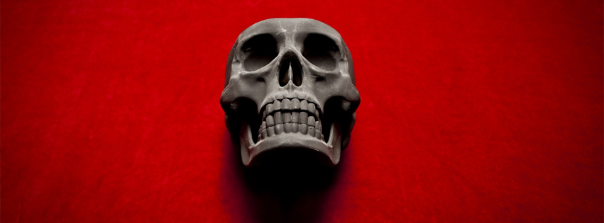 Skull Facebook Cover Image