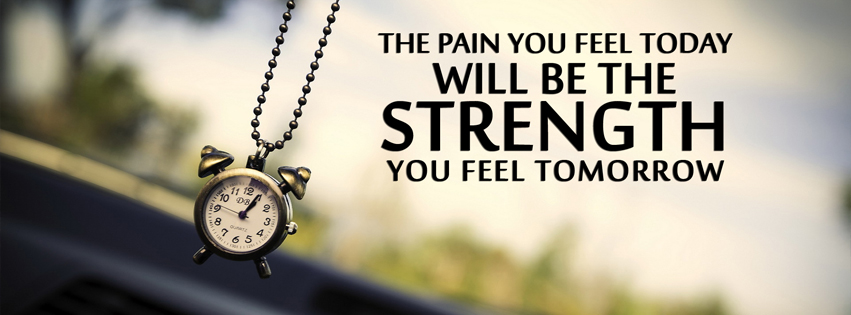 Strength Thought Facebook Cover Photo