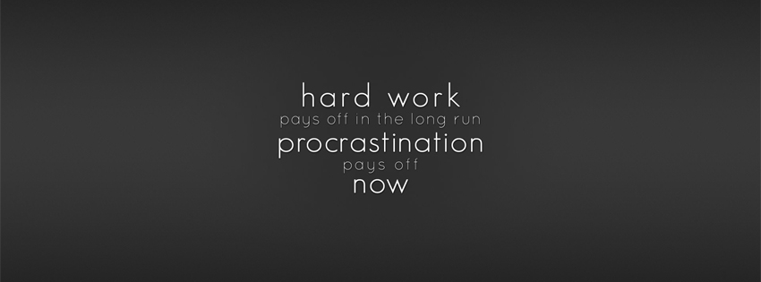 Wonderful Facebook Cover Photo on Hard Work